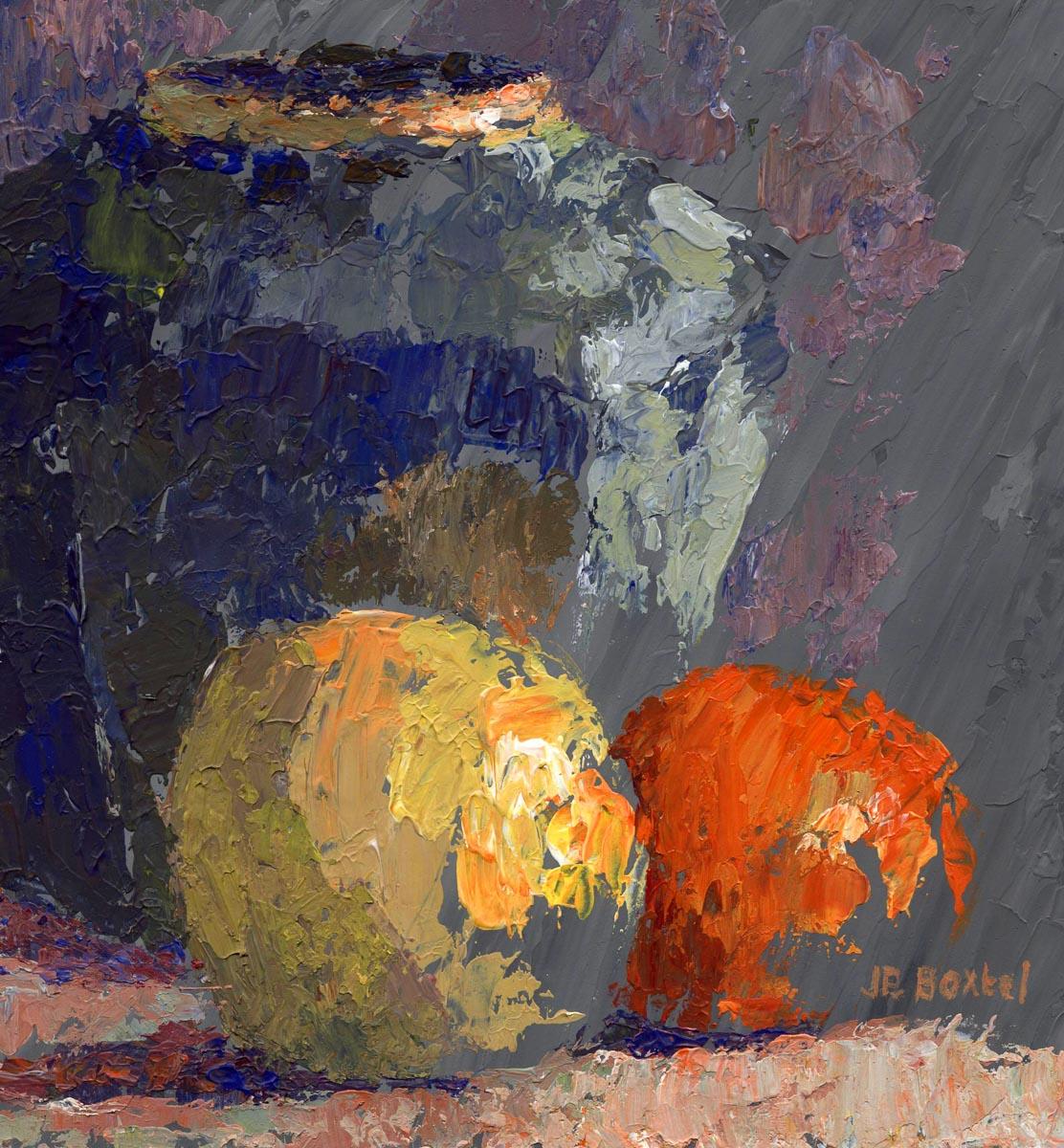 Gemberpot met fruit