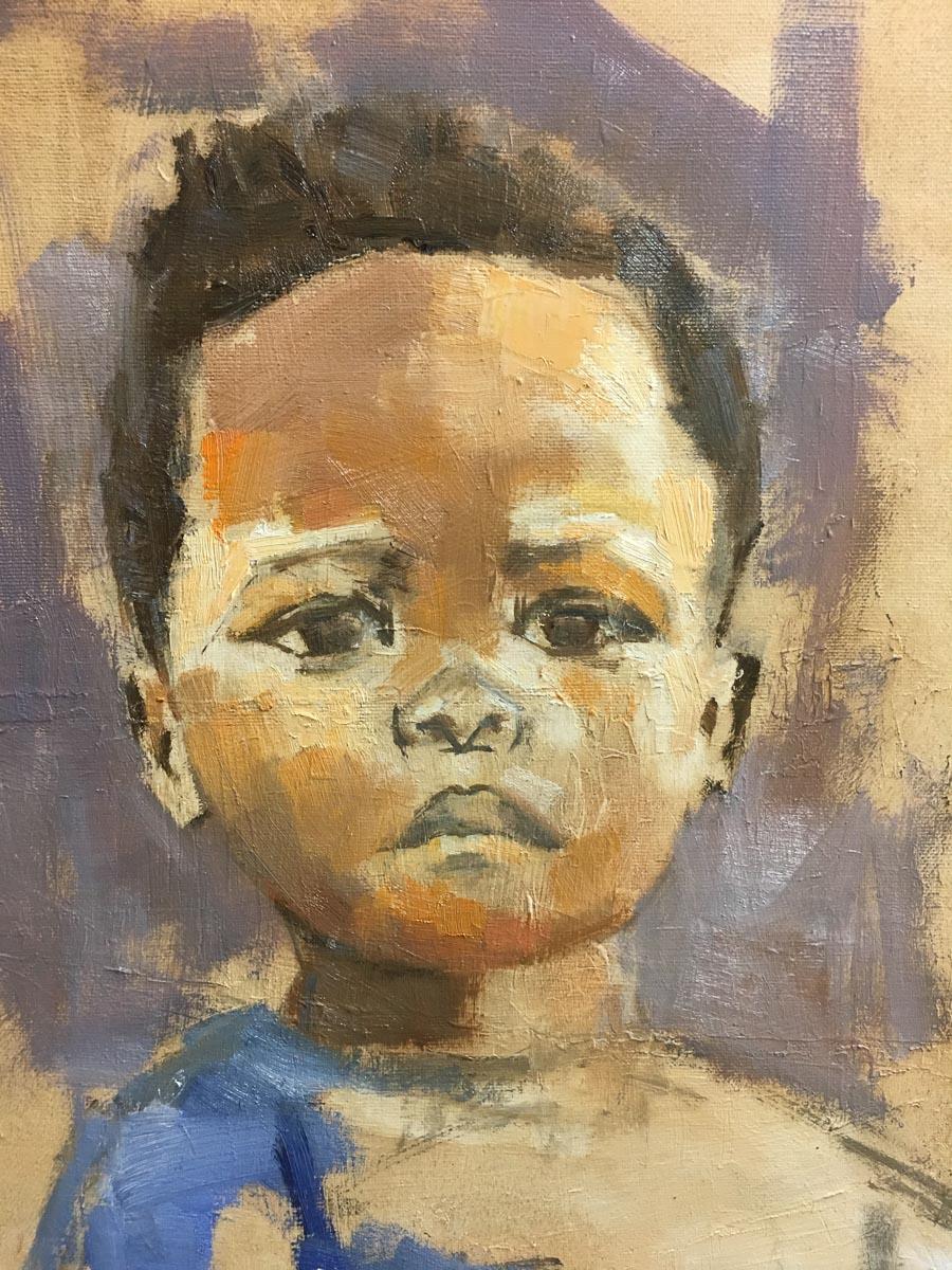 Jongetje uit Afrika